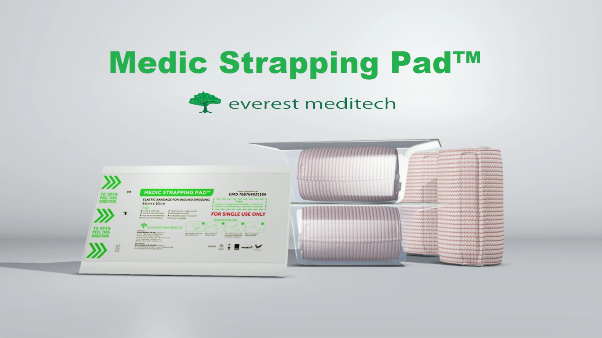 Medic Strapping Pad Banner